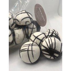 Meringues chocolat noir